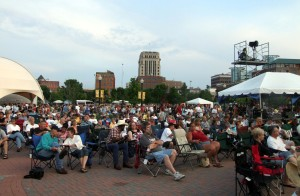 The Kalamazoo Blues Festival